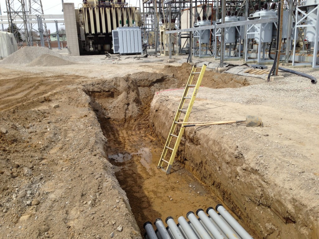 Trenching And Duct Bank Services As Required
