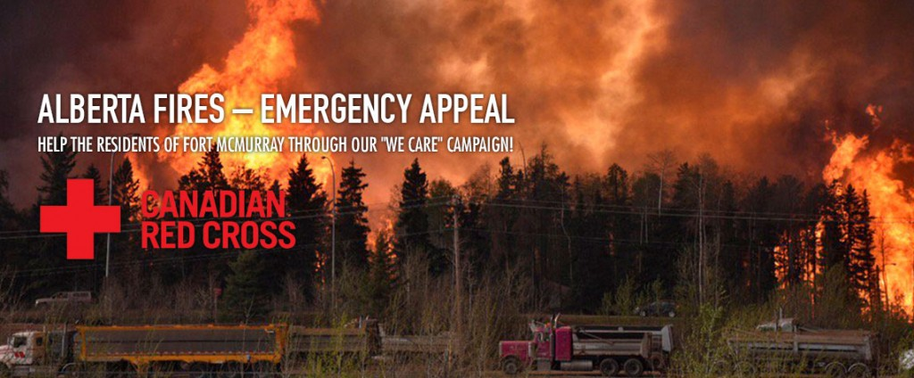 "Help the Residents of Fort McMurray Through our ""We Care"" Campaign!"
